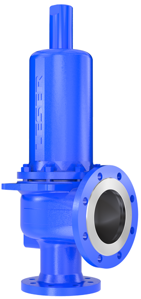 High Performance pressure relief valve from LESER