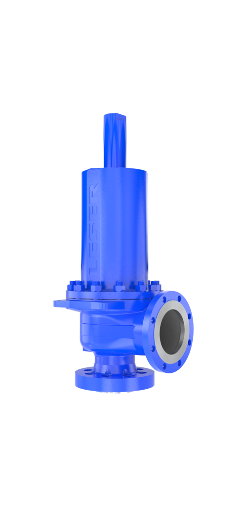 API pressure relief valve from LESER