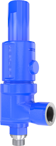 Compact Performance safety valve from LESER