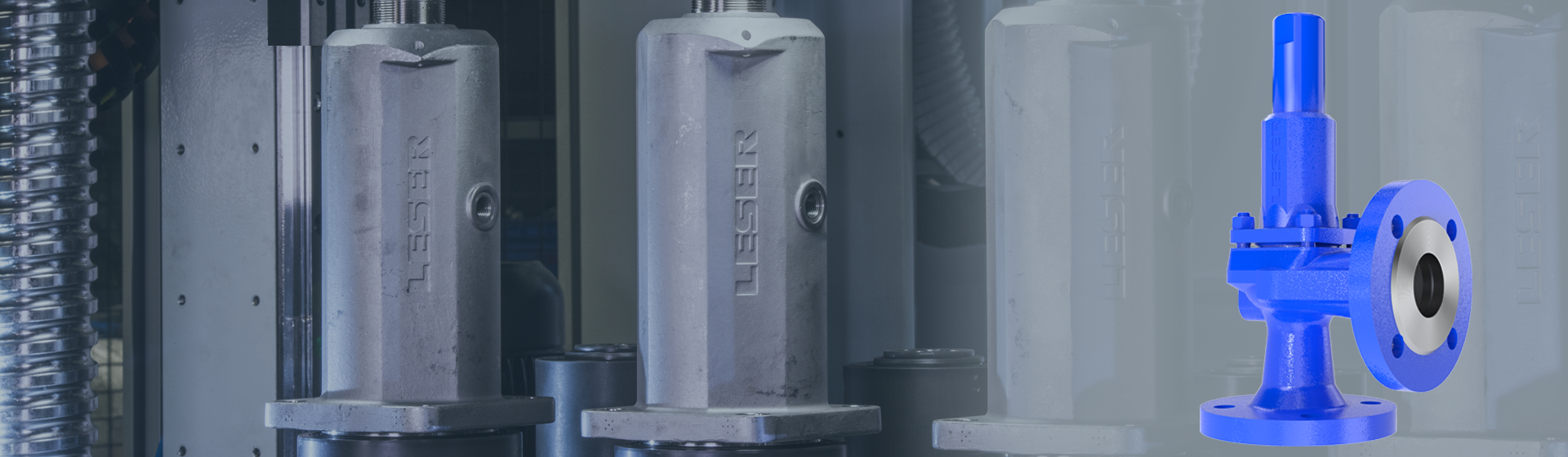 Modulate Action Pressure Relief Valve from LESER