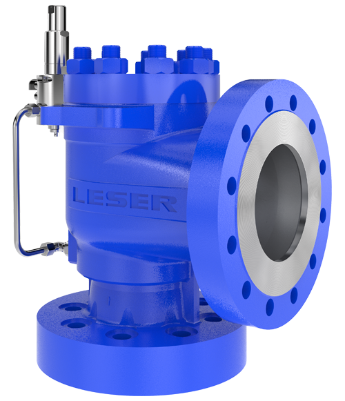 High Efficiency pressure relief valve from LESER