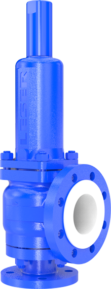 Critical Service pressure relief valve from LESER