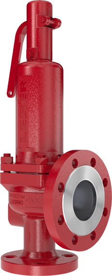 S&R Pressure Relief Valve from LESER