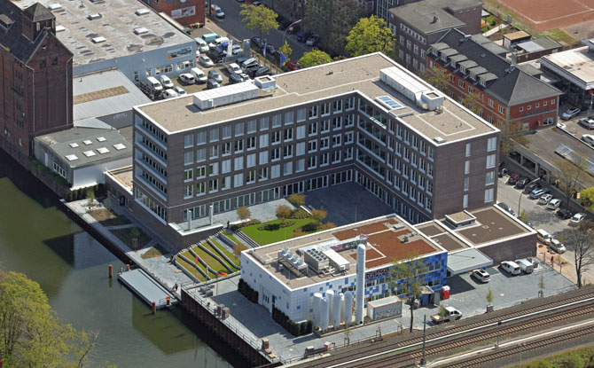LESER Headquarter in Hamburg